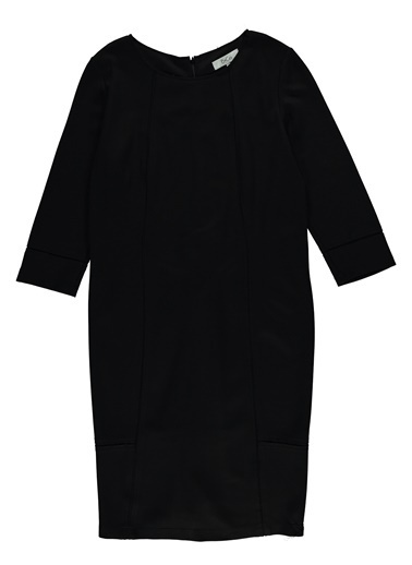 B&CO Elbise Siyah